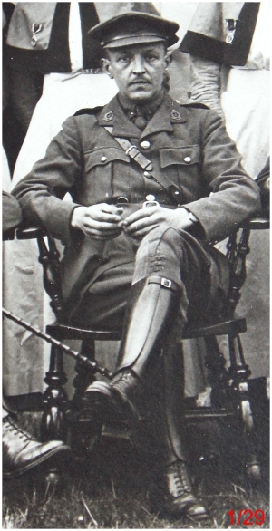 Royal Army Medical Corps Captain or Major. General Military Hospital, Colchester. July 1918.