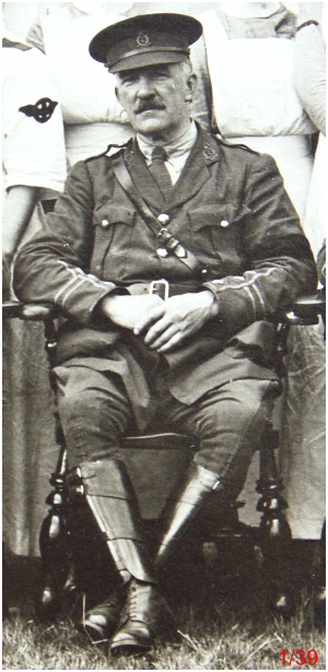 Royal Army Medical Corps Captain. General Military Hospital, Colchester. July 1918.